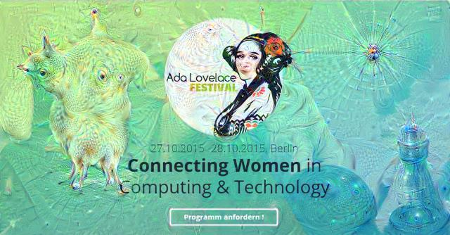Ada Lovelace Inceptionalism deepdream